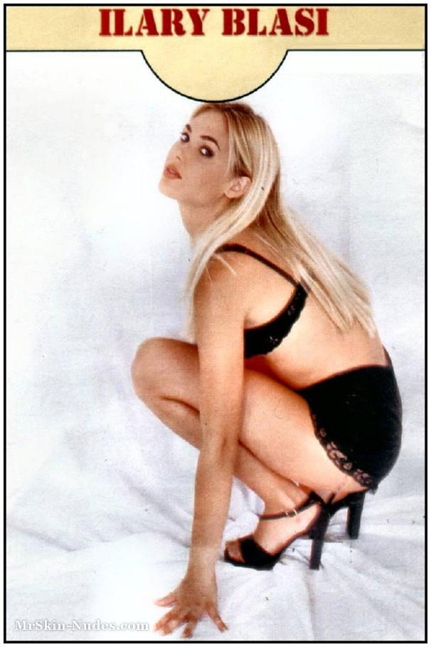 nude Ilary blasi