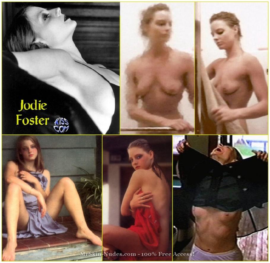 Naked jodie foster Jodie Foster