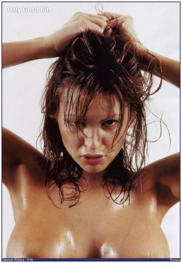 Gabrielle nackt Richens Hot Catherine