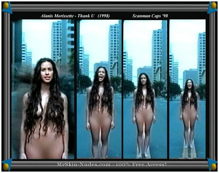 Ebony skinny nude
