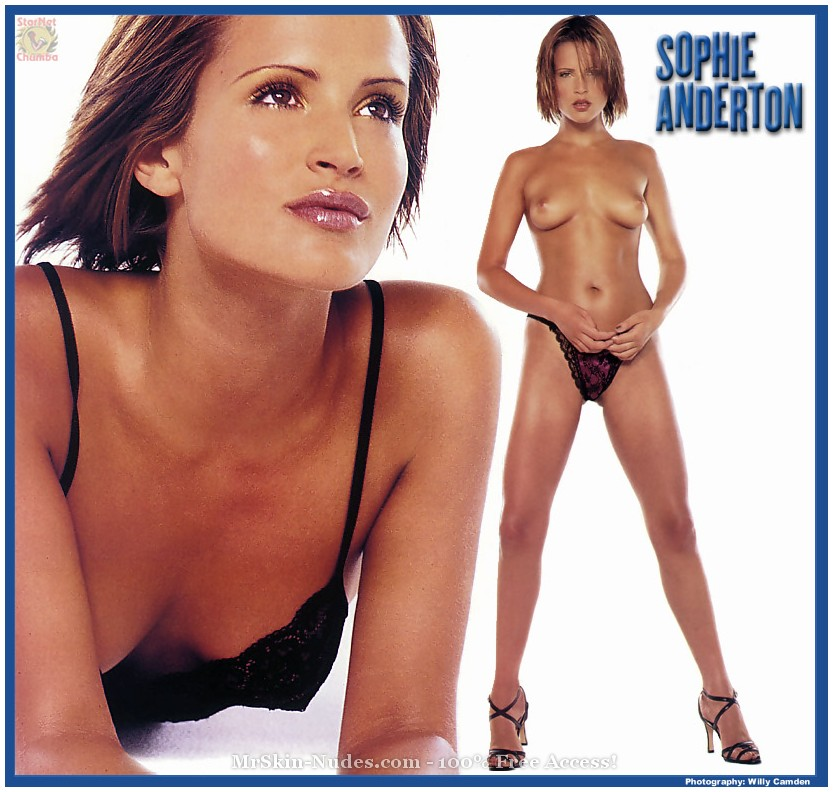 Sophie Anderton - naked