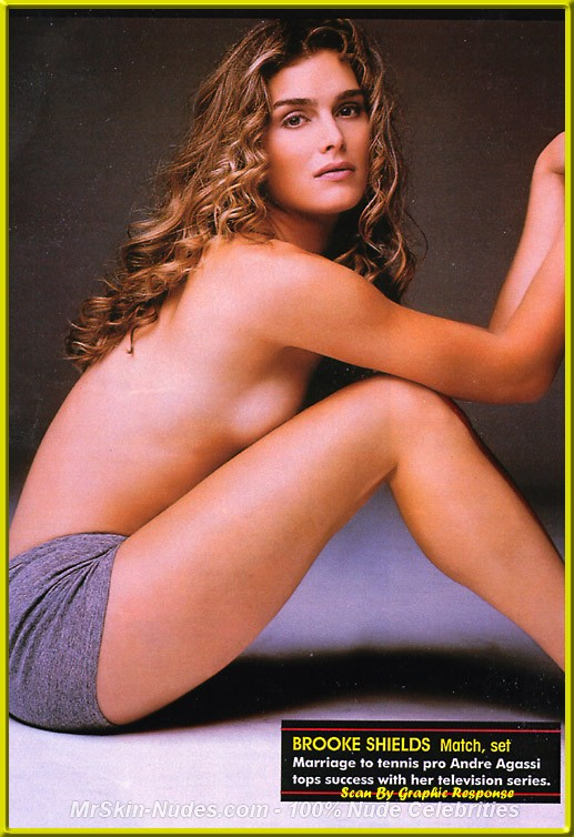 Free brooke shields nude apologise, but